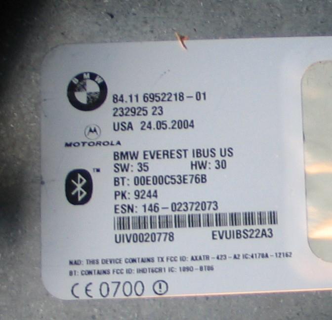 Name:  X5 Bluetooth Label.jpg Views: 1681 Size:  89.5 KB