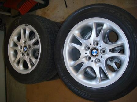 Winter Tires For Sale >> FS: 17 inch Genuine OEM BMW X3 WHEELS with TIRES - Xoutpost.com