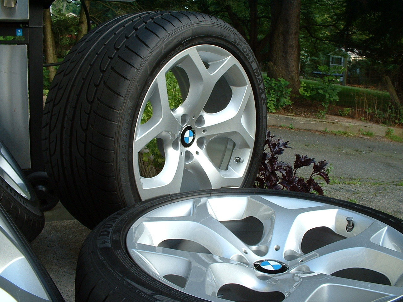 2009 20 Quot Bmw X5 Style 214 Y Spoke Wheels Tires Tpms New