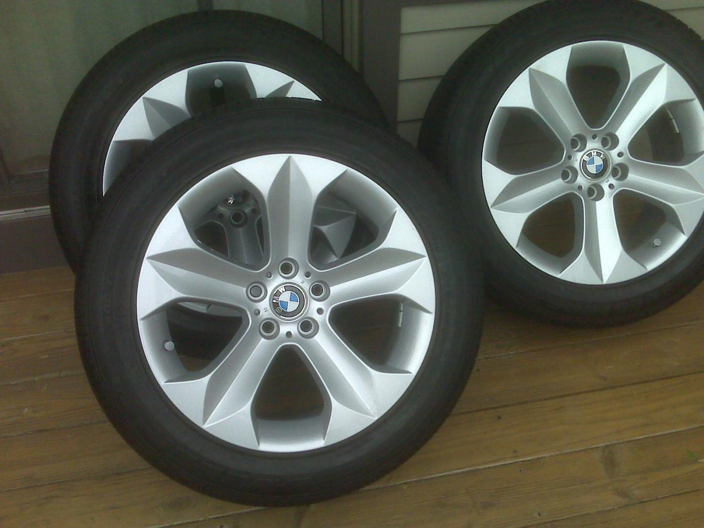 2010 Bmw X6 50i Wheels Amp Run Flat Tires Brand New Tires