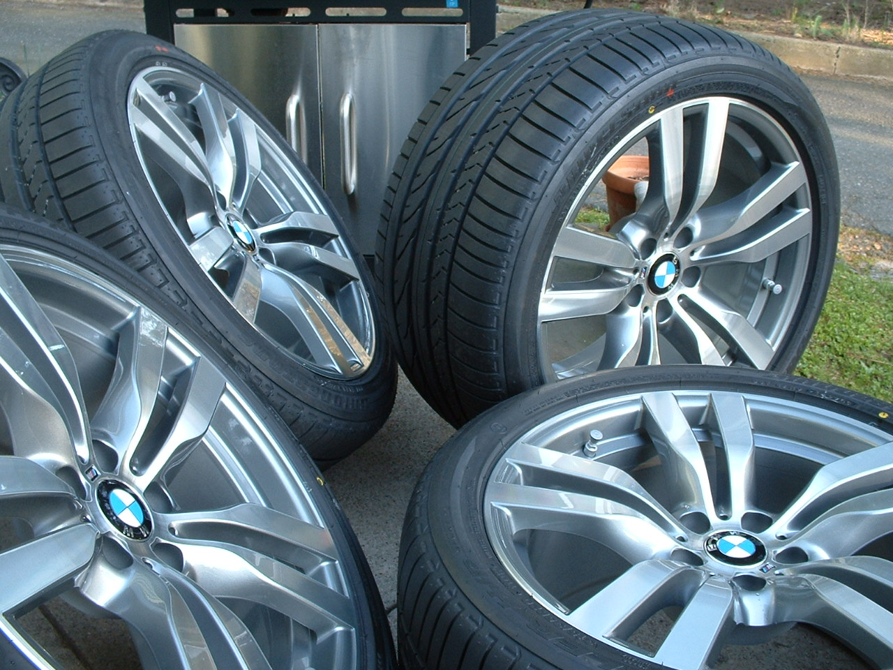 2010 Bmw X6m Factory 20 Quot Wheels Tires Amp Tpms New