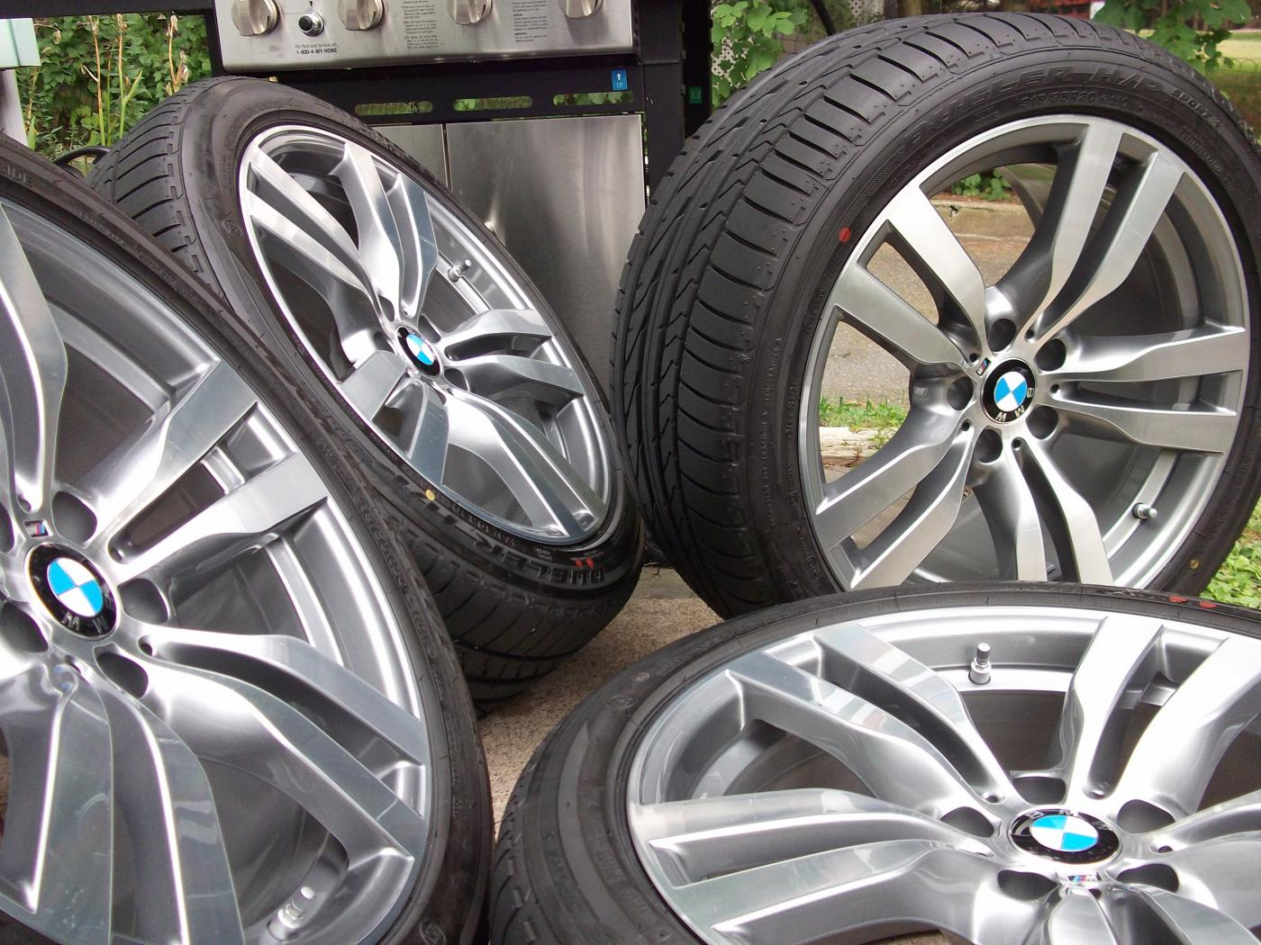 2011 Bmw X6m Factory 20 Quot Wheels Tires Amp Tpms Style 300m