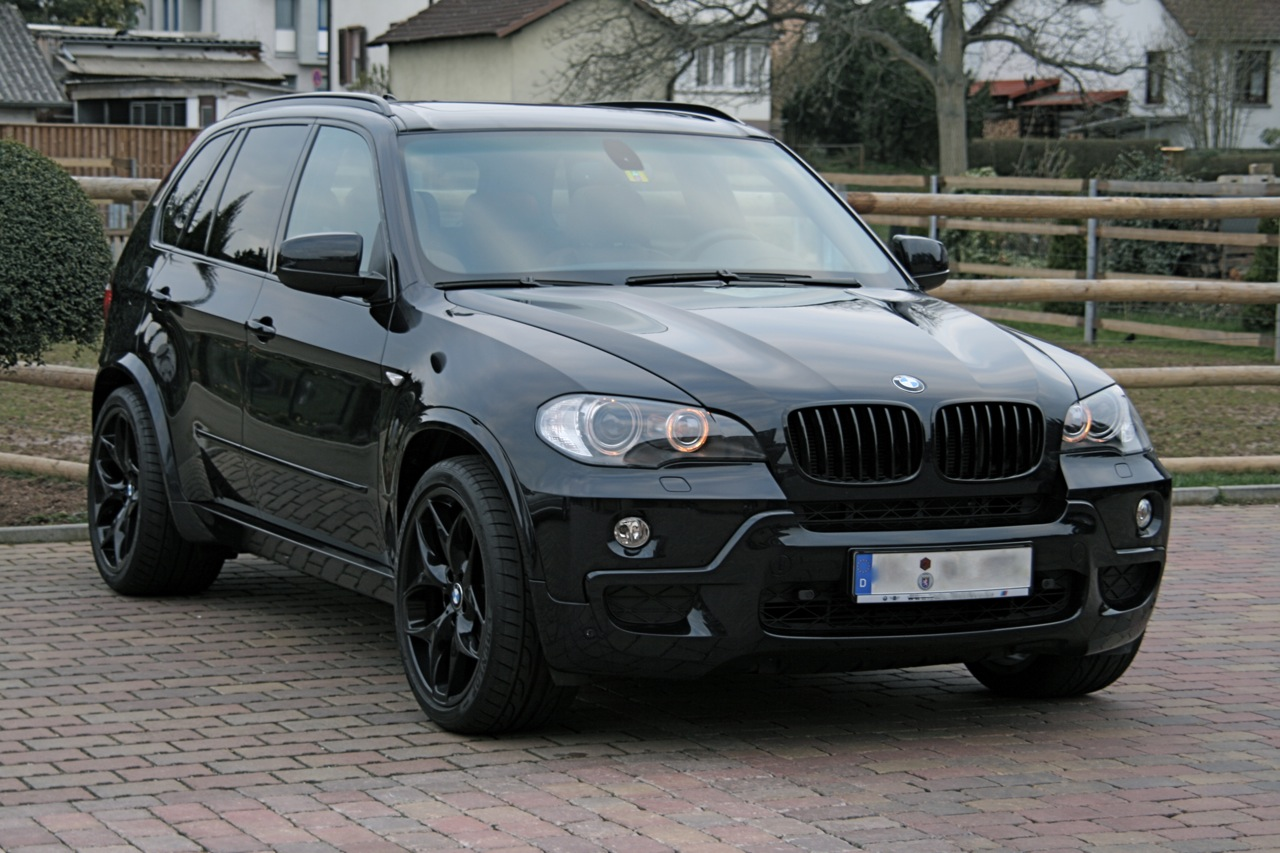 "New BMW X5 21"" Style 215's in Black & Ferric Grey ..."