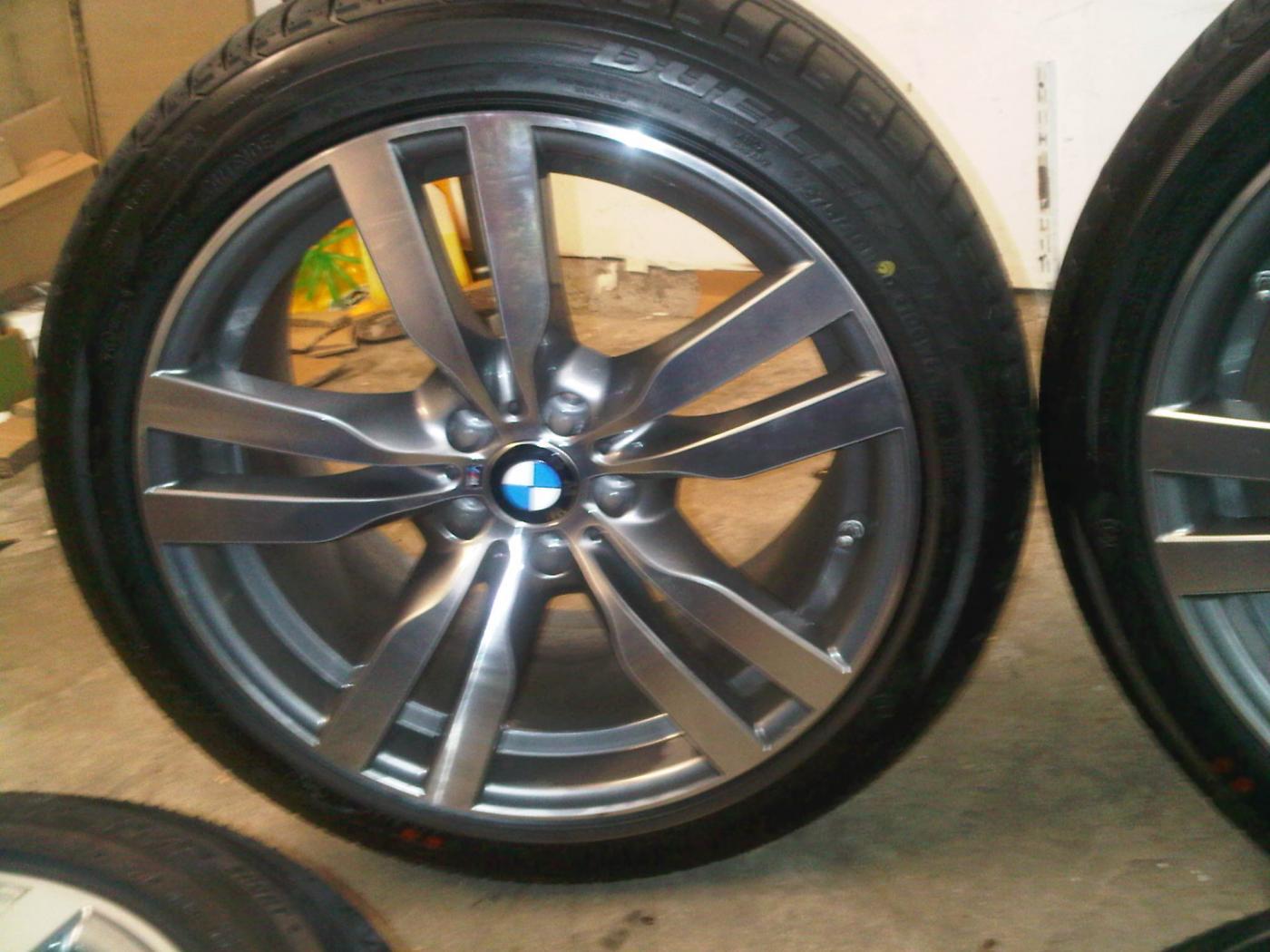 Brand New Take Offs 2012 Bmw X6m Wheels With Tires