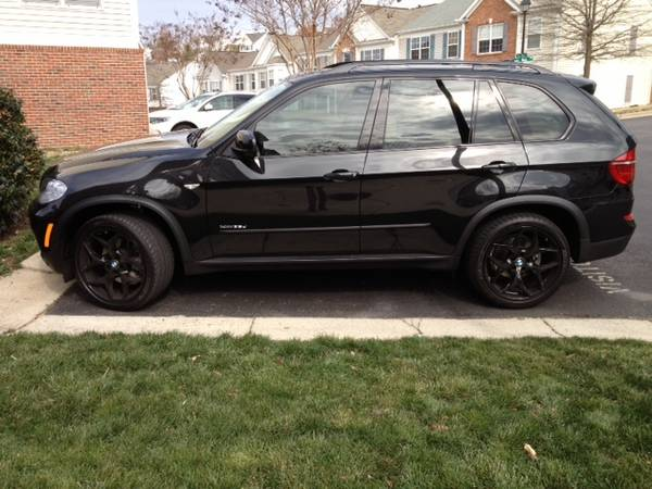 BMW X5 21 Black Rims For Sale
