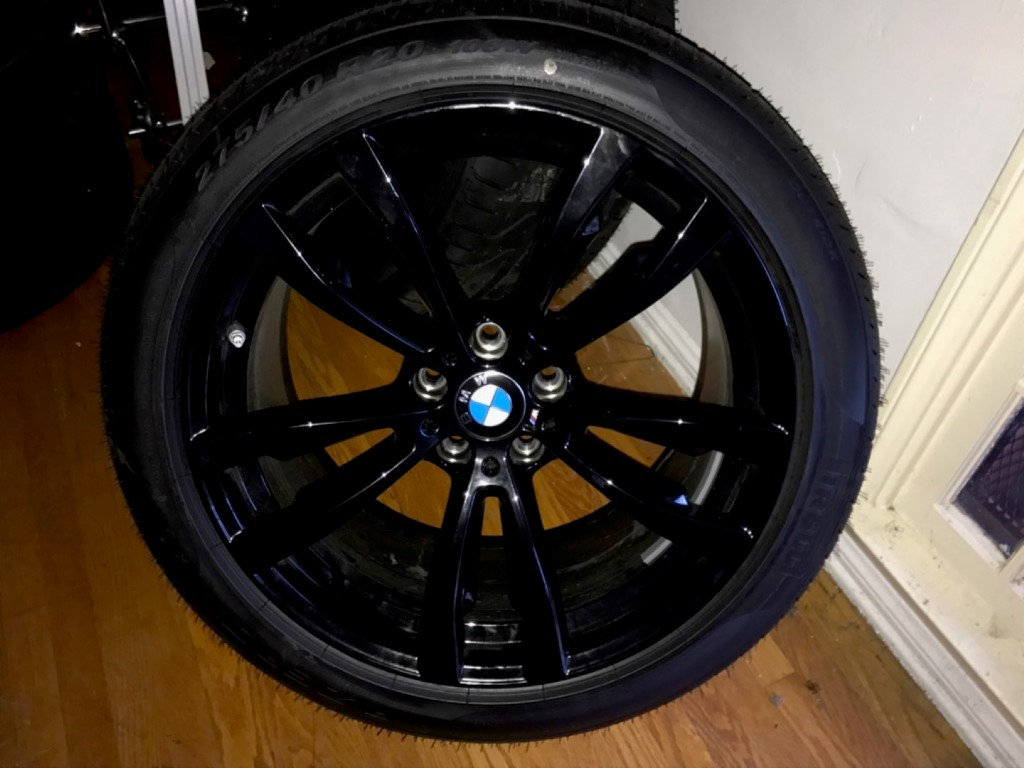 20 Quot M Sport Style 469 Powder Coated Black Wheels
