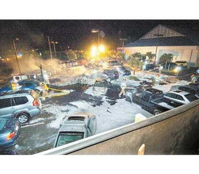 Horrific Plane Crash In Maui At The Bmw Dealership Lot Xoutpost Com