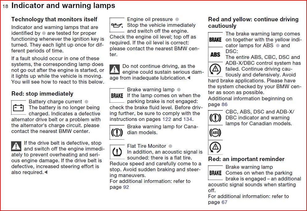 Bmw Z4 Indicator LightsBurned Out Light Bulb Warning BMW X3 Symbols Http Www Xoutpost Com Sav E60 530d Winter Cold START YouTube