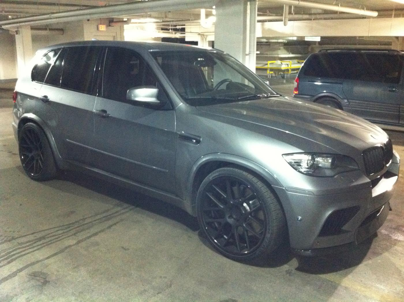 Please Post Your Pics Of An X5m W Aftermarket Wheels