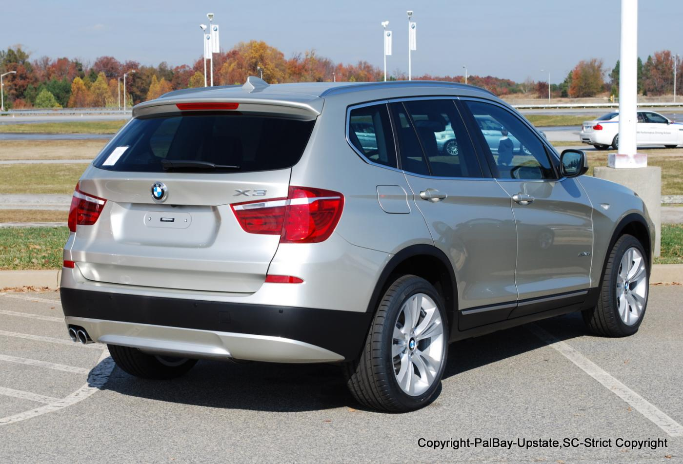 Real Life Pic's-2nd Gen X3-xDrive35i-Mineral Silver ...