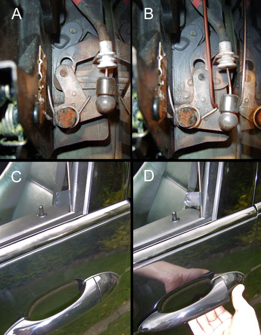 Door Lock Stuck - Fix with Pics!!! - Xoutpost com