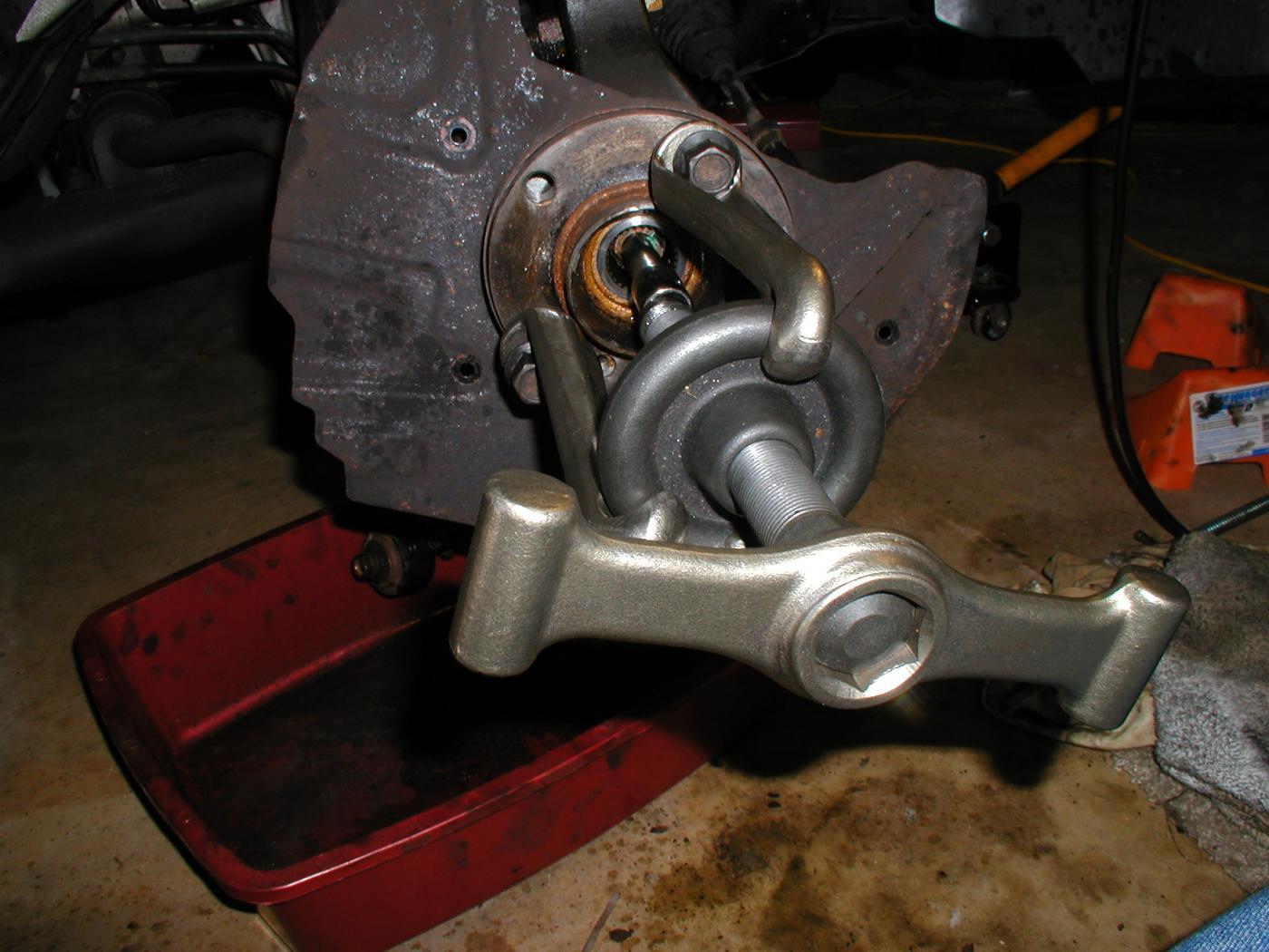 X5 DIY CV Joint Boot Replacement - Xoutpost com
