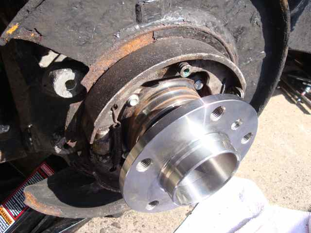 e39 rear wheel bearing diy
