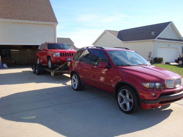 Bmw X5 Towing >> Pic of my 4.8is(towing). - Xoutpost.com