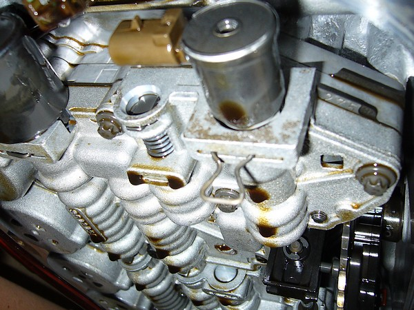 Replacing TCC solenoid, experience with GM5 transmission ...