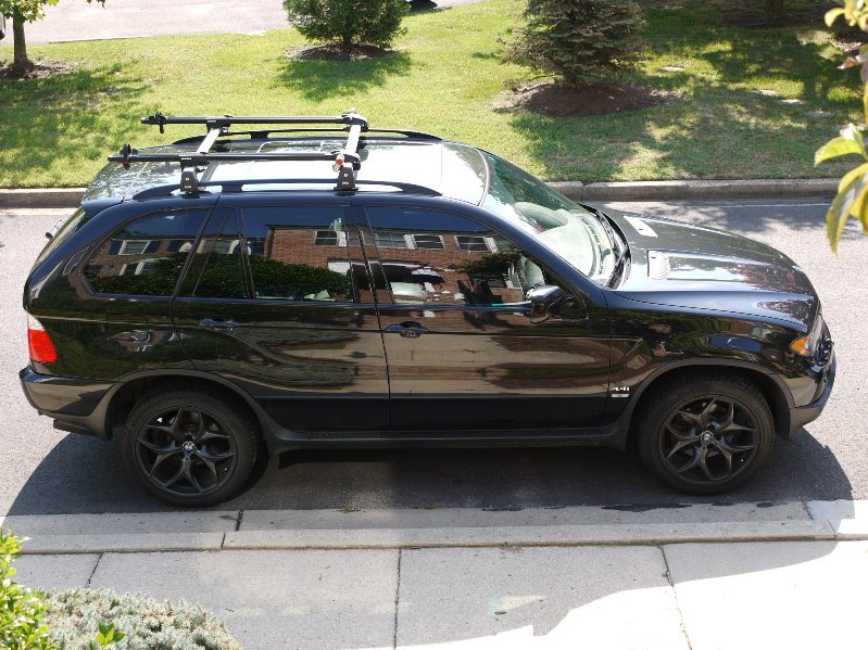X5 E53 With Roof Cargo Box Xoutpost Com