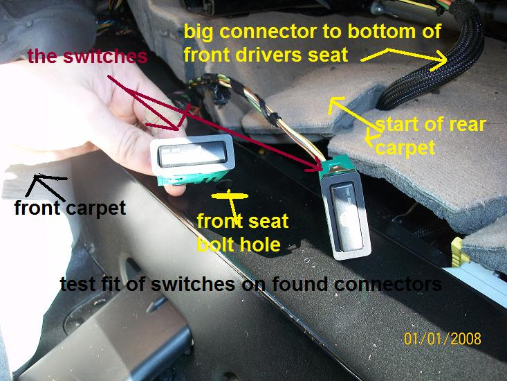 Heated Seat Retrofit With Pictures Xoutpost Com