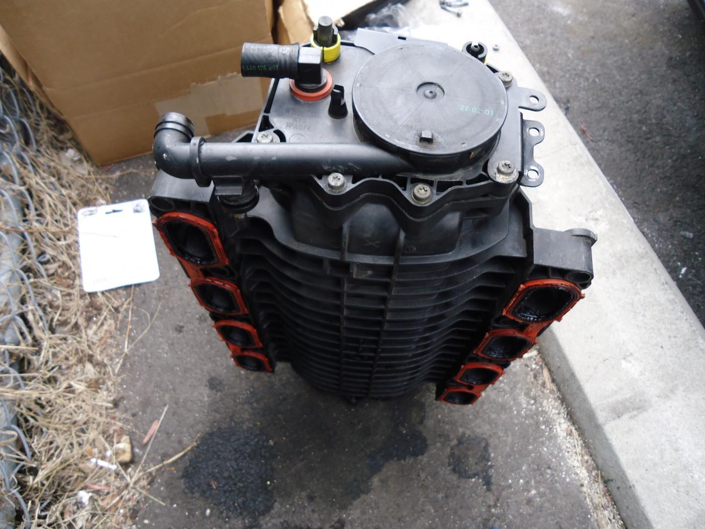 2004 X5 E53 Vacuum Line Engine Manifold Diagram Attached Images