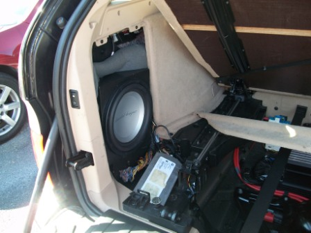 Custom Subwoofer Enclosure And Amp Installed Page 15