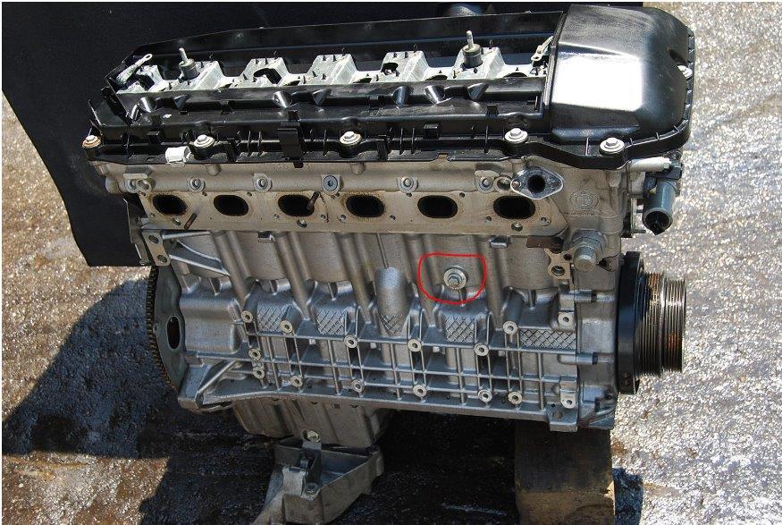 coolant drain plug on \u002703 x5 3 0l xoutpost comEngine Coolant Drain Plug #14