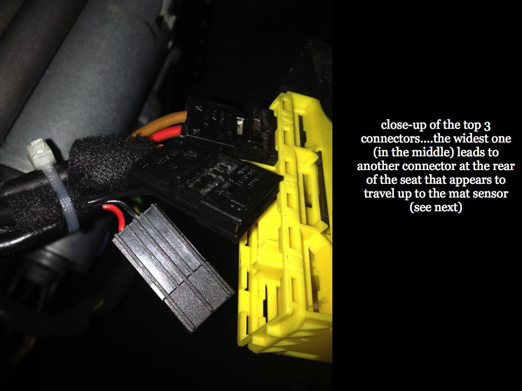 Passenger Seat Occupancy Sensor Mat Bypass Xoutpost Com