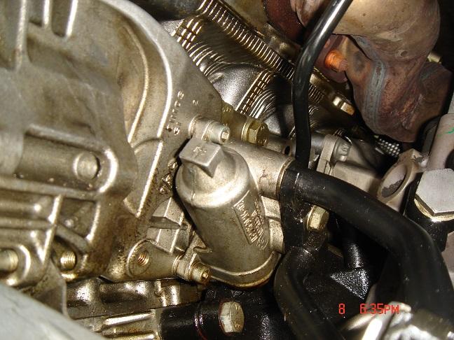 Bmw x5 oil leak passenger side