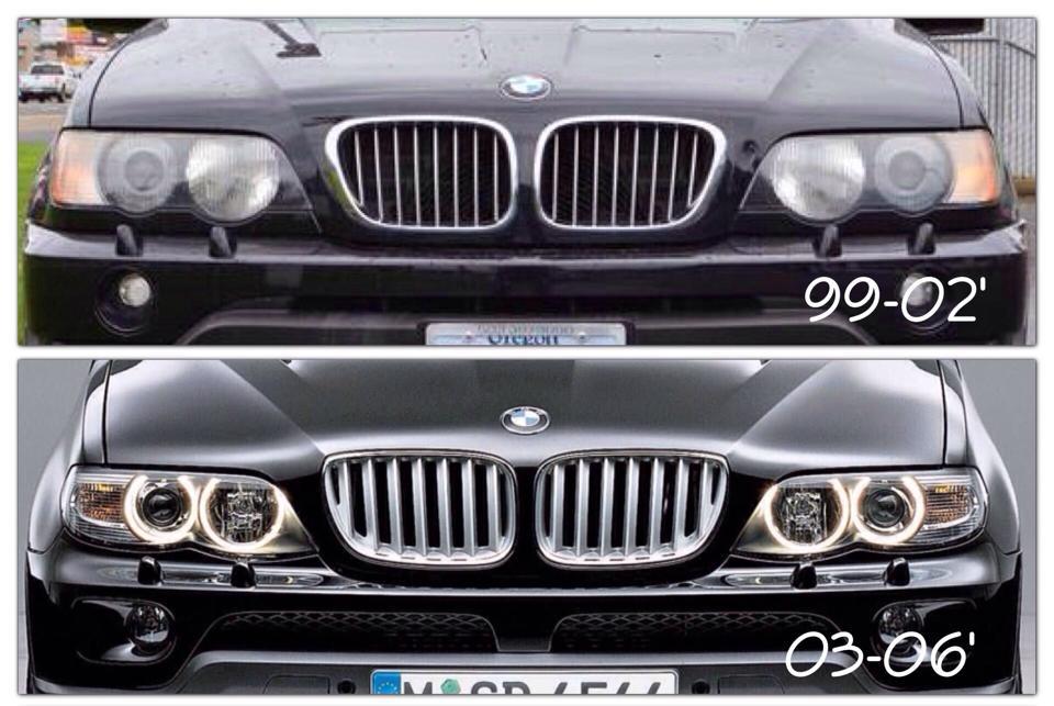 e53 grille facelift fits on  Xoutpostcom