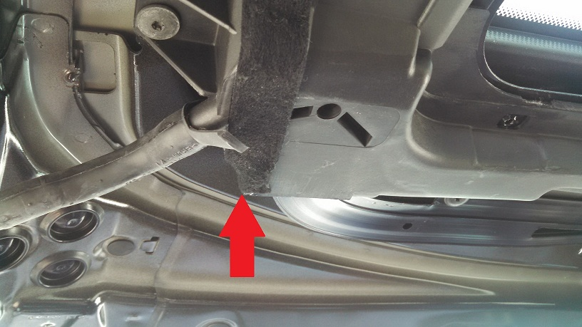 Leaking sunroof question about removing resealing drain tray xoutpost com
