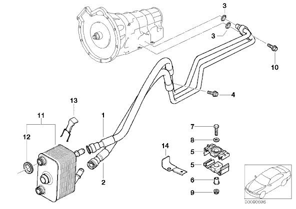 coolant leak into transmission