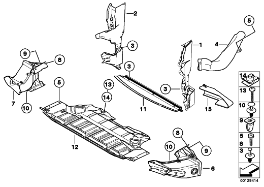Bmw X5 Radiator Diagram