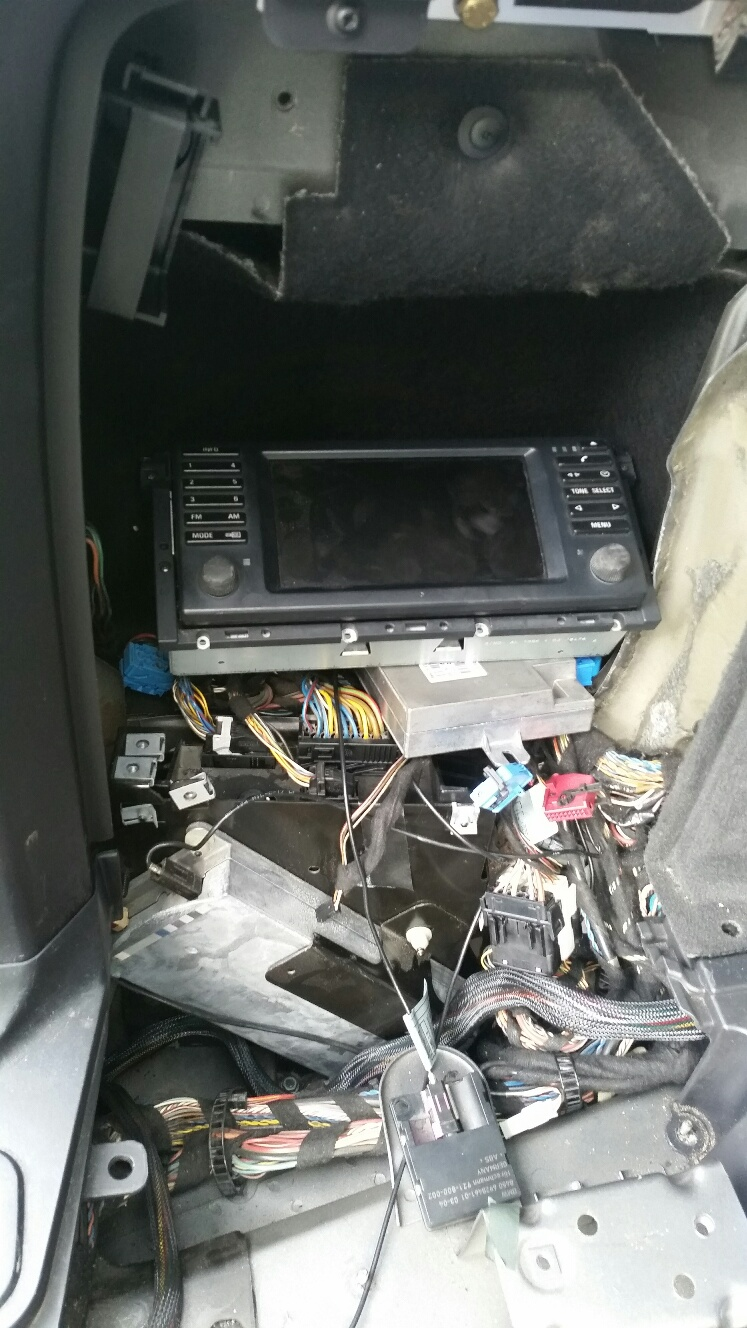 Relocating NAV unit after installing Eonon - is it possible