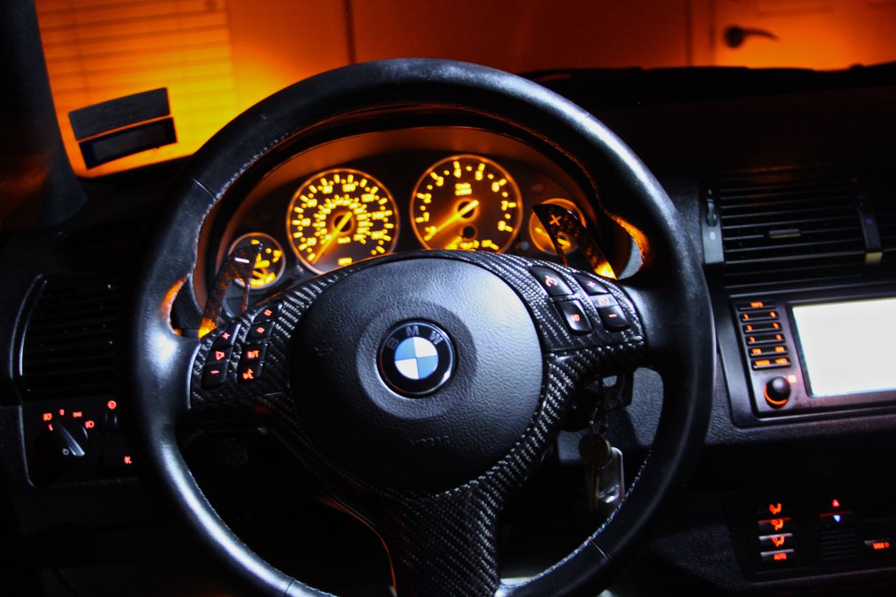 E53 steering wheel conversion to e46 smg m3 paddle shift wheel attached images vanachro Image collections