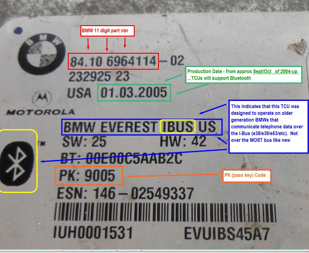 Bmw x5 bluetooth pairing code