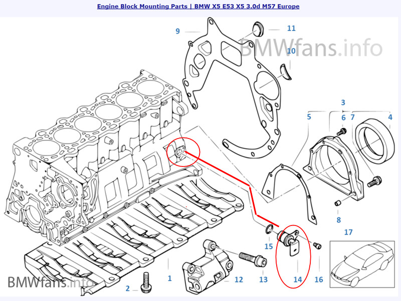 e53 crank sensor location - page 2