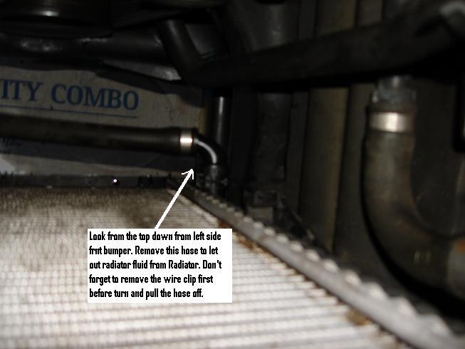 Drain Plug (Radiator Flush DIY X5 2003 4.4i) - Xoutpost.com