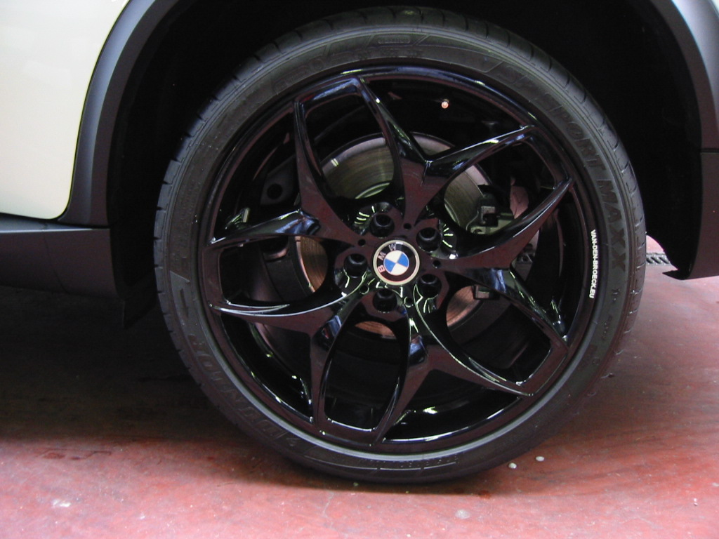 Good Black Gloss Paint For Wheels