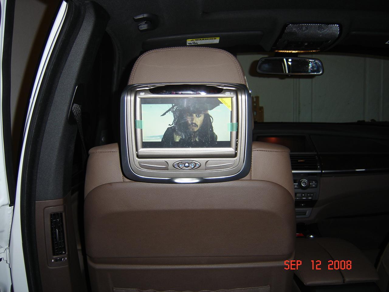 Fields BMW Winter Park >> Headrest DVD Installed- Invision SL - Xoutpost.com