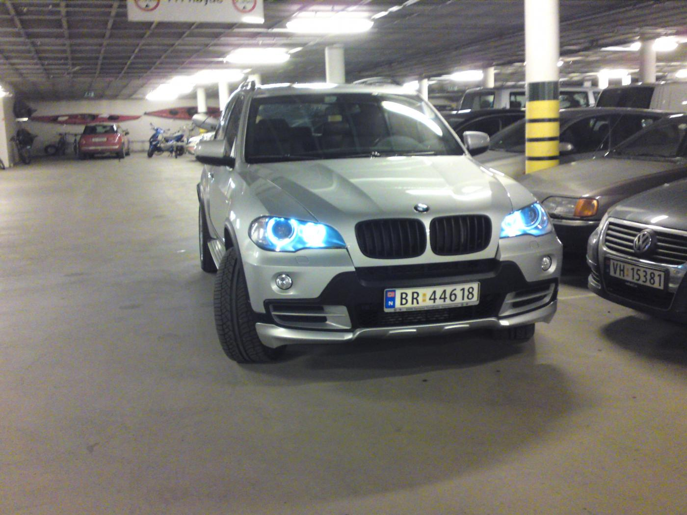 Bmw x5 angel eyes led-9721