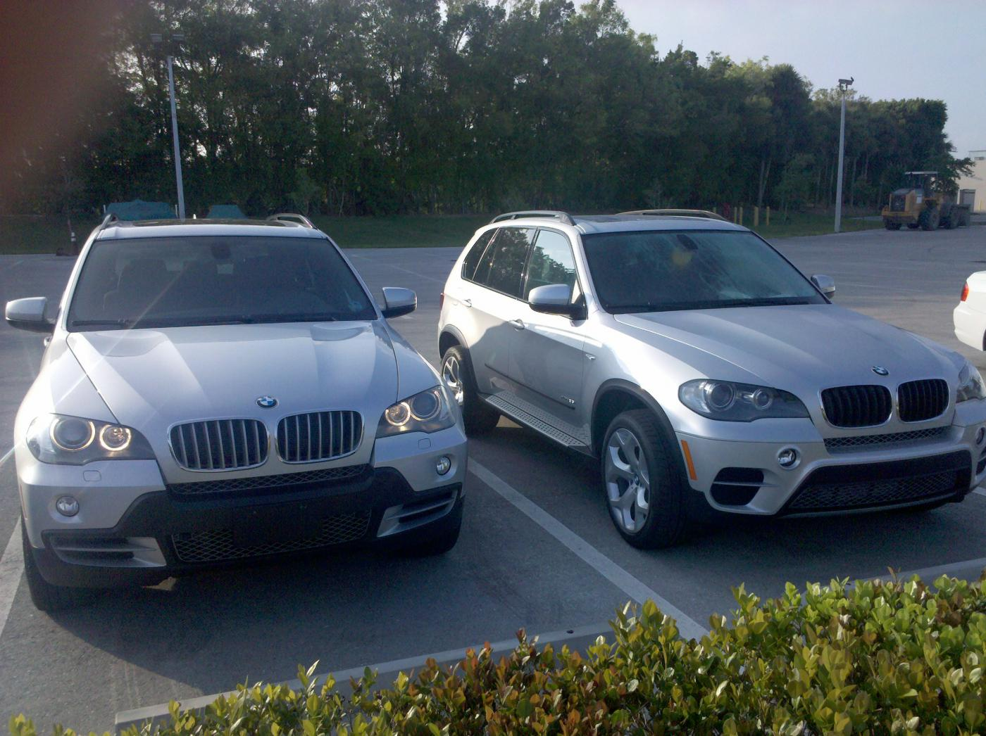 2010 Bmw X5 Vs 2011 X5 In Pictures Xoutpost Com