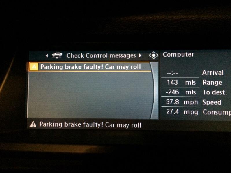 Parking Brake Faulty Xoutpost Com