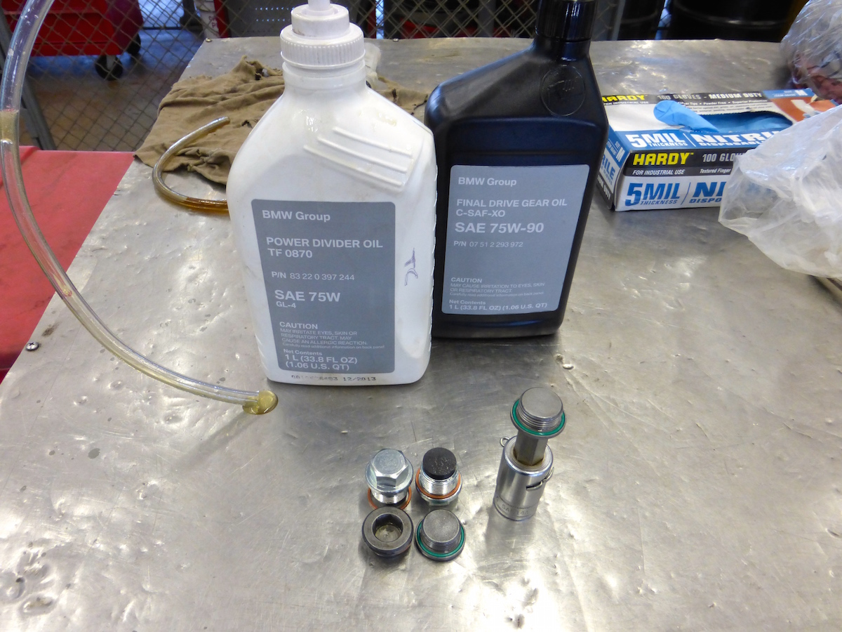 Chevy Alaskan Edition >> Transfer Case & Rear Differential Fluid Change Today - Xoutpost.com