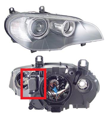 X5 E70 Halogen Headlight Angel Eye Led Upgrade Xoutpost Com