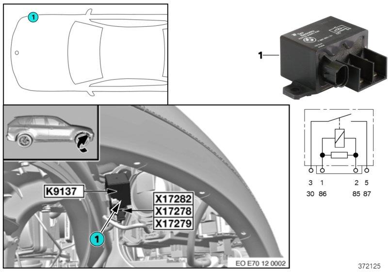 Correlation between poor engine performance and fan relay