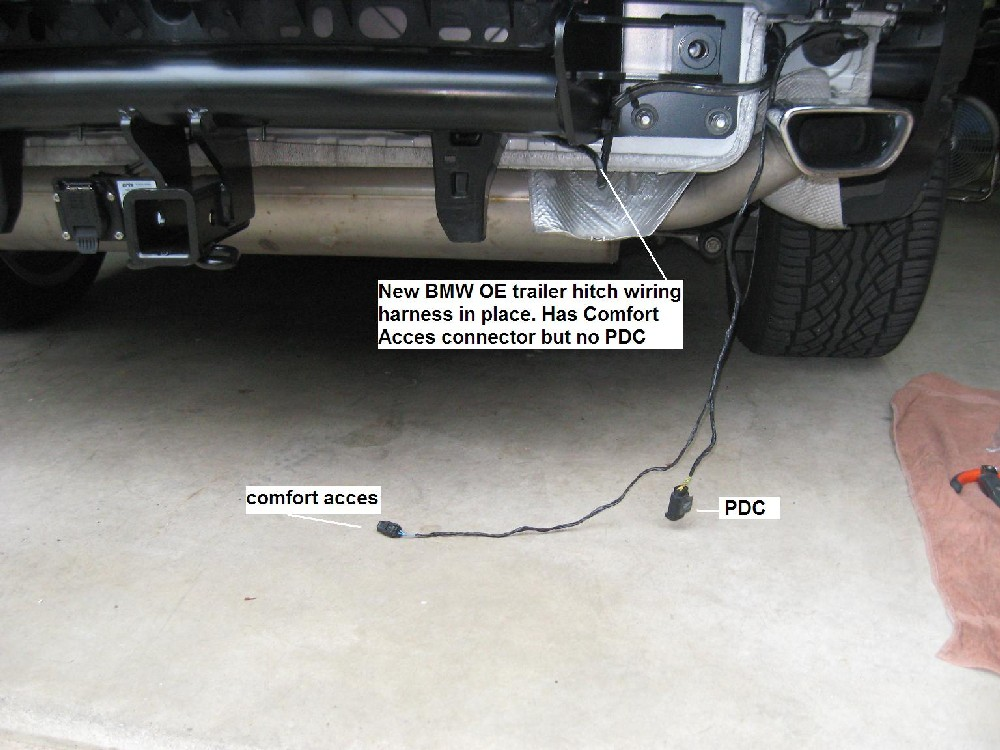 Amazing Problem Installing Oem Hitch And Harness Xoutpost Com Wiring Digital Resources Hetepmognl