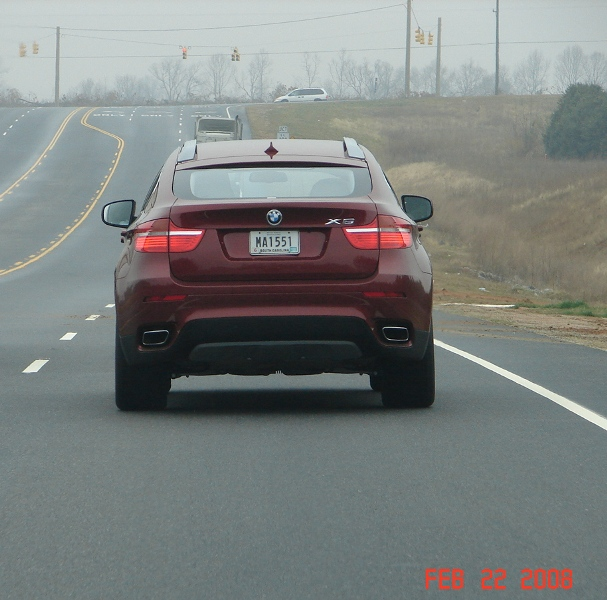 Bmw X6 Problems Forum: Vermillion Red Production X6 XDrive 50i Spotted