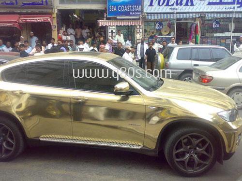Gold Colored X6 In Dubai Xoutpost Com
